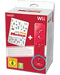 Wii Play: Motion (inkl. Controller Fernbedienung Plus, rot)