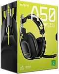 Headset A50 Wireless inkl. Mix Amp -Black/Green- (Astro)