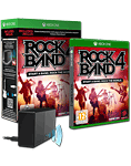 Rock Band 4 (Spiel & Legacy Adapter inkl. 30 Songs PreOrder DLC Pack)