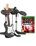 Rock Band 4 - Band-in-a-Box Edition (inkl. 30 Songs PreOrder DLC Pack)