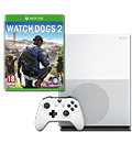 Xbox One S Konsole 1 TB - Watch Dogs 2 Set (Microsoft)