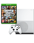 Xbox One S Konsole 500 GB - Grand Theft Auto 5 Set (Microsoft)