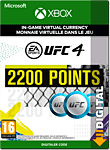 EA Sports UFC 4: 2200 UFC Points