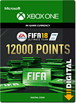 FIFA 18 Ultimate Team: 12000 Points (Xbox One-Digital)