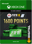 FIFA 18 Ultimate Team: 1600 Points (Xbox One-Digital)