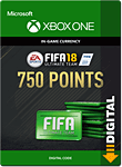 FIFA 18 Ultimate Team: 750 Points (Xbox One-Digital)