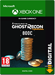 Ghost Recon Wildlands: 800 Credits (Xbox One-Digital)