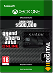 Grand Theft Auto 5: Bull Shark 500'000 Cash Card