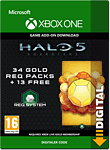 Halo 5: Guardians - 34 Gold REQ Packs (Xbox One-Digital)