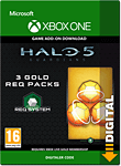 Halo 5: Guardians - 3 Gold REQ Packs (Xbox One-Digital)