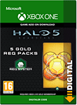 Halo 5: Guardians - 5 Gold REQ Packs (Xbox One-Digital)