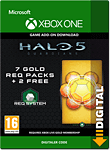 Halo 5: Guardians - 7 Gold REQ Packs (Xbox One-Digital)