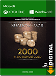 Middle-earth: Shadow of War - 2200 Gold (XPA Version) (Xbox One-Digital)