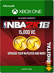 NBA 2K18: 15'000 VC (Xbox One-Digital)