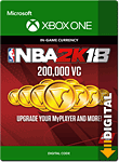 NBA 2K18: 200'000 VC (Xbox One-Digital)