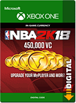 NBA 2K18: 450'000 VC (Xbox One-Digital)