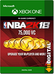 NBA 2K18: 75'000 VC (Xbox One-Digital)