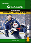 NHL 17 Ultimate Team: 5850 Points (Xbox One-Digital)