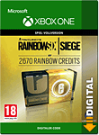 Rainbow Six: Siege - 2670 Rainbow Credits (Xbox One-Digital)