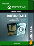 Rainbow Six: Siege - 7560 Rainbow Credits (Xbox One-Digital)