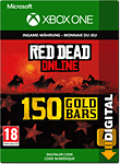 Red Dead Redemption 2: 150 Gold Bars (Xbox One-Digital)