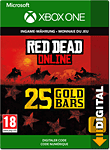 Red Dead Redemption 2: 25 Gold Bars (Xbox One-Digital)