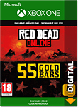 Red Dead Redemption 2: 55 Gold Bars (Xbox One-Digital)