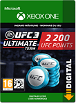 UFC 3: 2200 UFC Points (Xbox One-Digital)