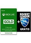 Xbox Live Prepaid Abo 3 Monate + gratis Rocket League (Microsoft) (Xbox One-Digital)