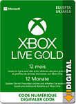 Xbox Live Gold Abo 12 Monate (Xbox One-Digital)