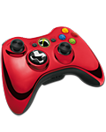 Controller Wireless -Chrome Red- (Microsoft)