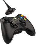 Controller Wireless + Play & Charge Kit -black- (Microsoft)
