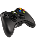 Controller Wireless -black- (Microsoft) (Xbox 360)