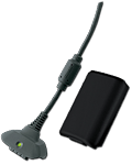 Play & Charge Kit -black- (Microsoft)