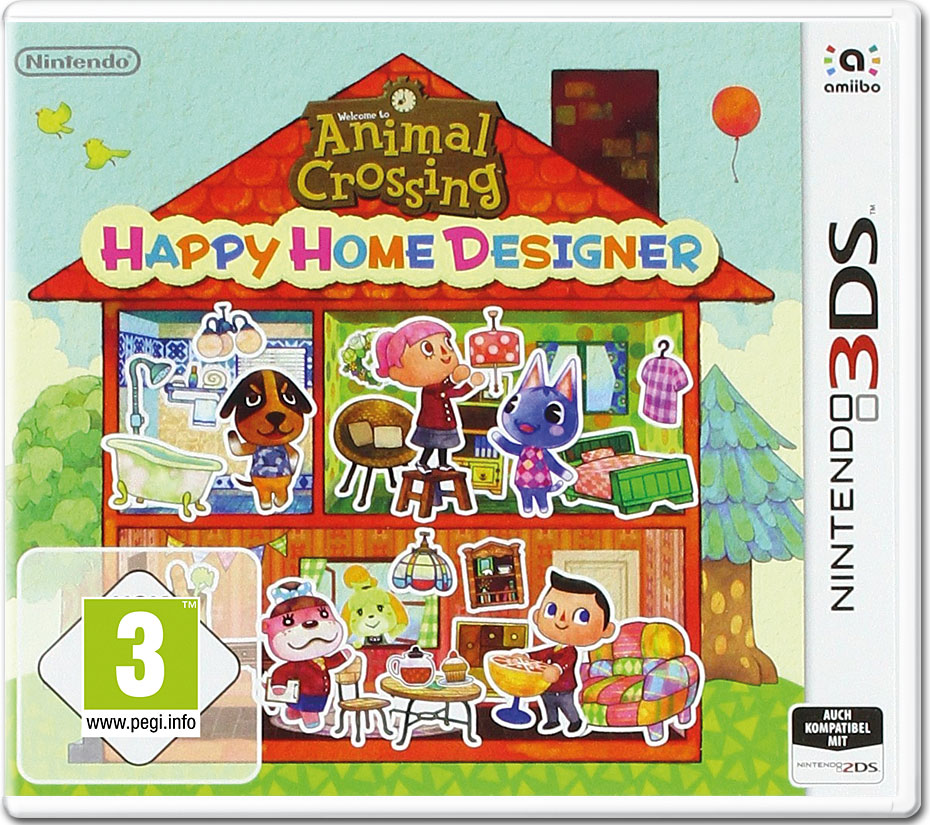 Animal Crossing Ds Happy Home Designer
