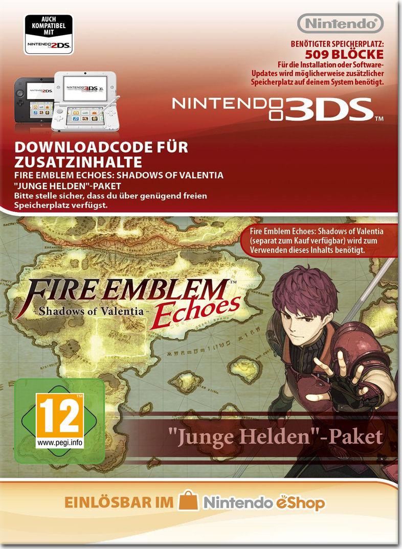 Fire Emblem Echoes Dlc Paket 1 Junge Helden 3ds Digital World Red A