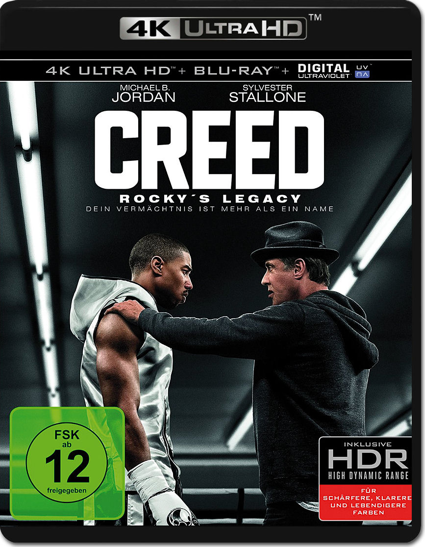 creed rocky 39 s legacy blu ray uhd 2 discs 4k ultra hd filme world of games. Black Bedroom Furniture Sets. Home Design Ideas