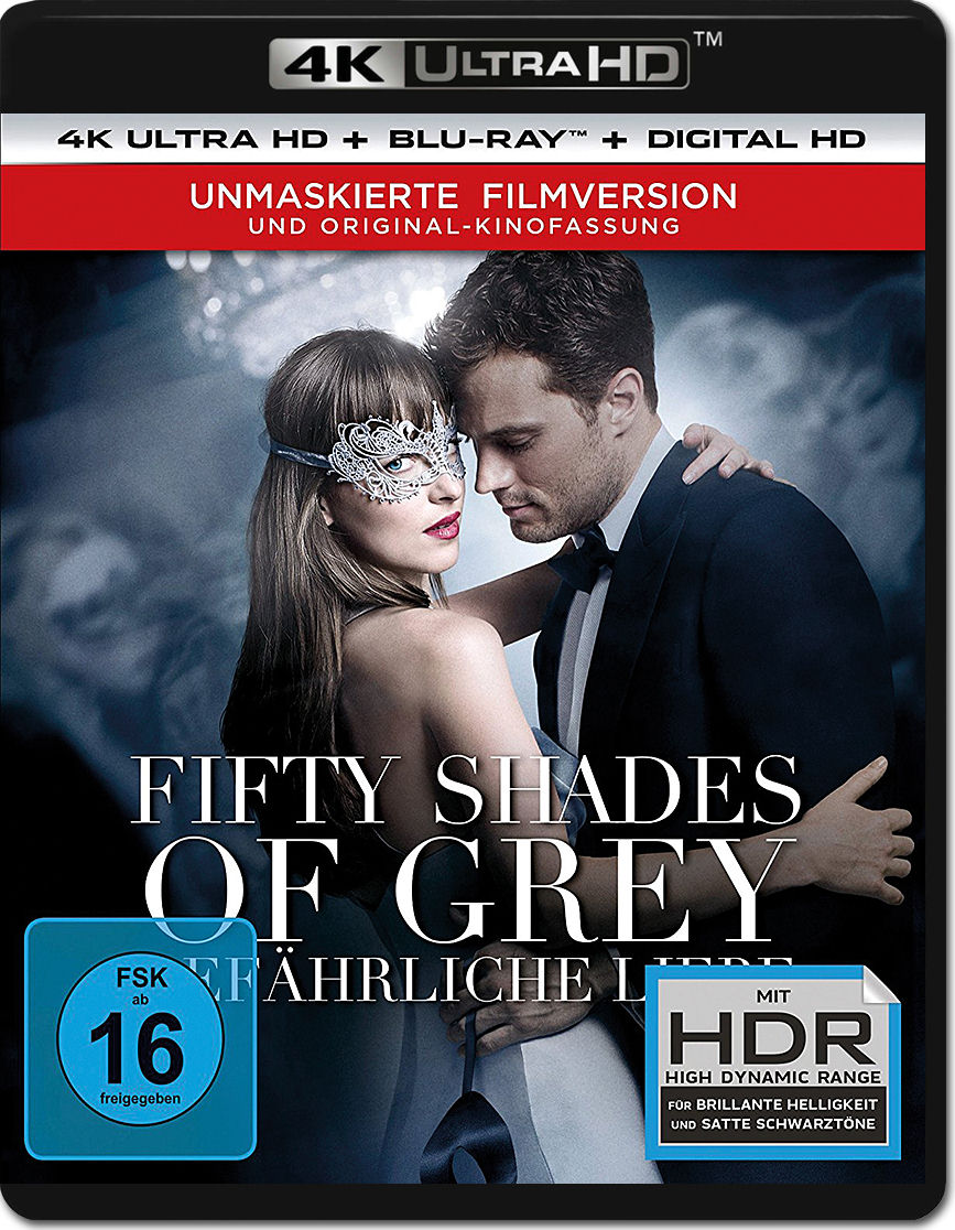 fifty shades of grey 2 gef hrliche liebe blu ray uhd 2 discs 4k ultra hd filme world of games. Black Bedroom Furniture Sets. Home Design Ideas