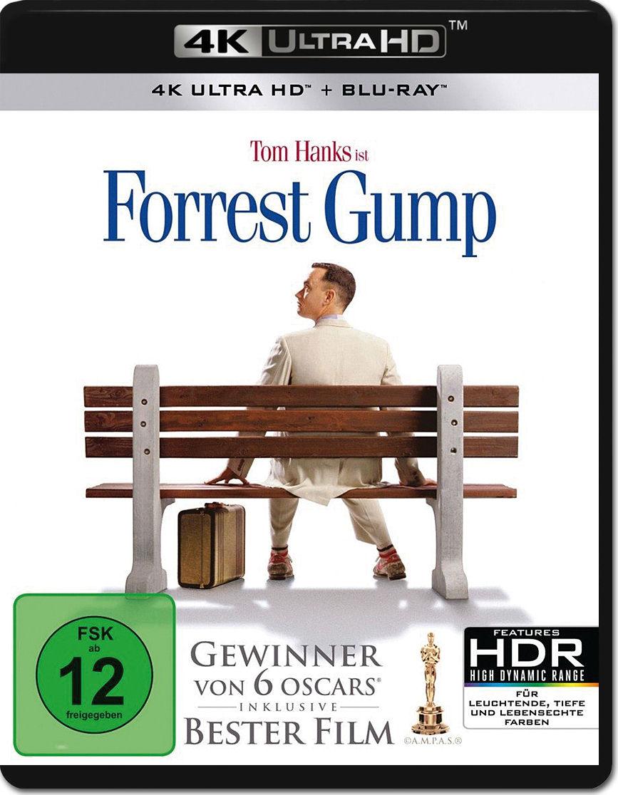 Forrest Gump Blu Ray Uhd 2 Discs 4k Ultra Hd Filme World Of Games