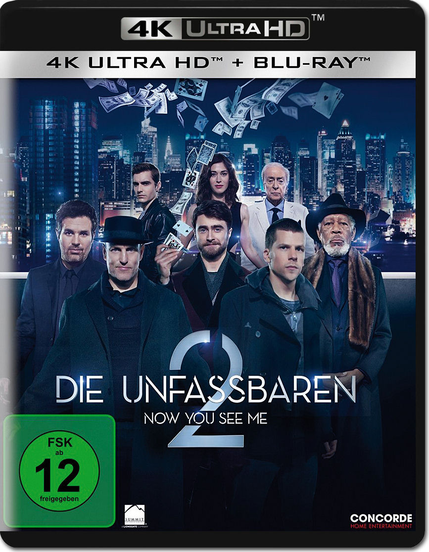 Now You See Me  Blu Ray Uhd  Discs