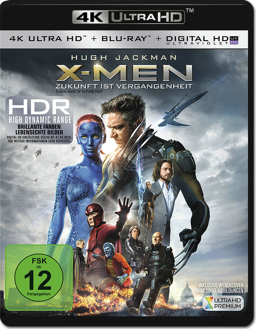 X men days of future past blu ray cover