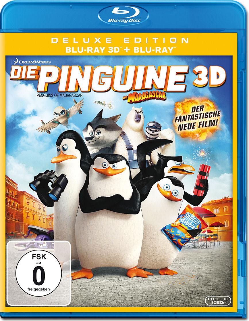 die pinguine aus madagascar bluray 3d 2 discs bluray