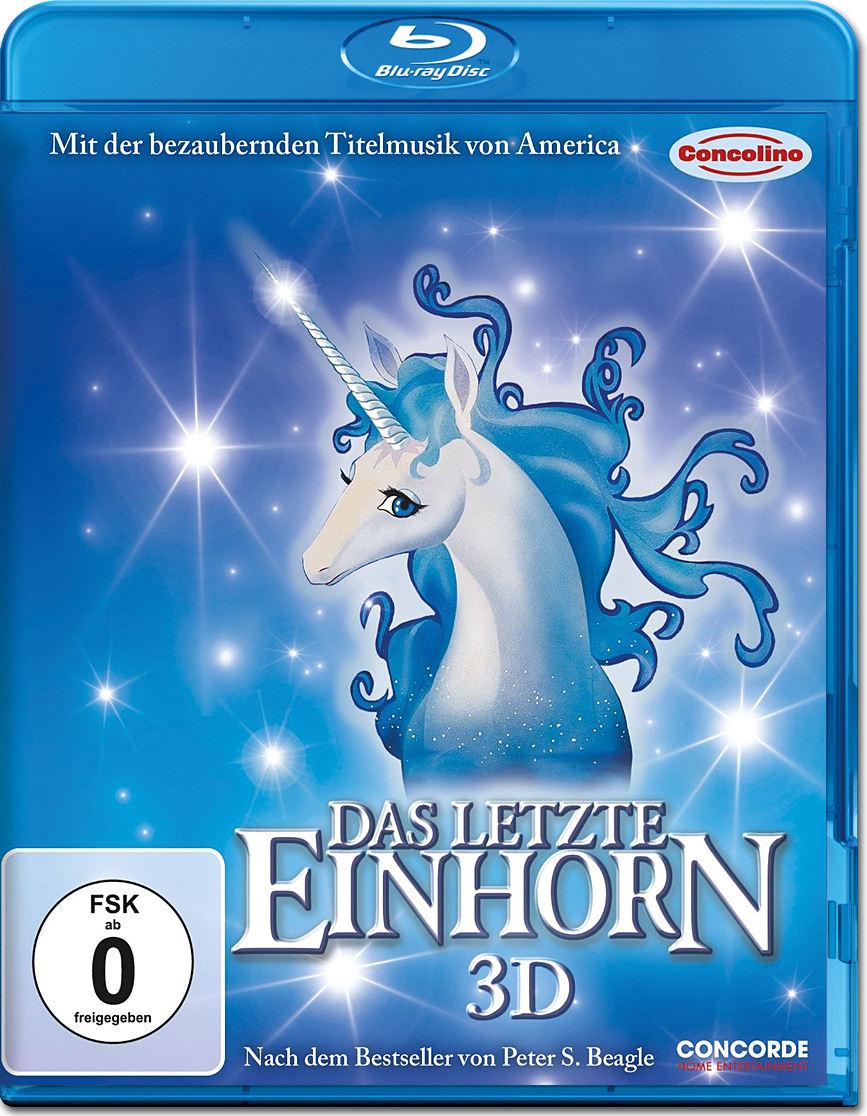 Das letzte Einhorn Blu-ray 3D [Blu-ray 3D Filme] • World ...