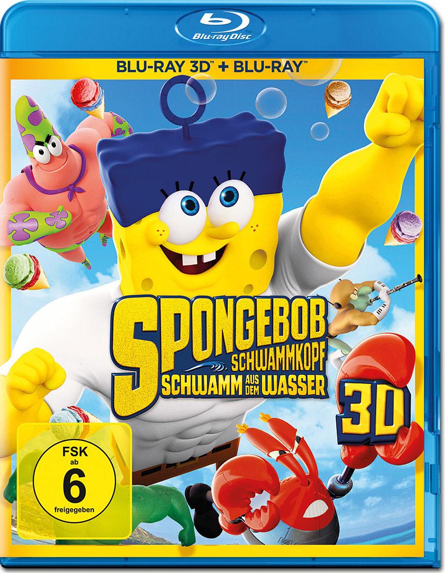 spongebob schwamm aus dem wasser