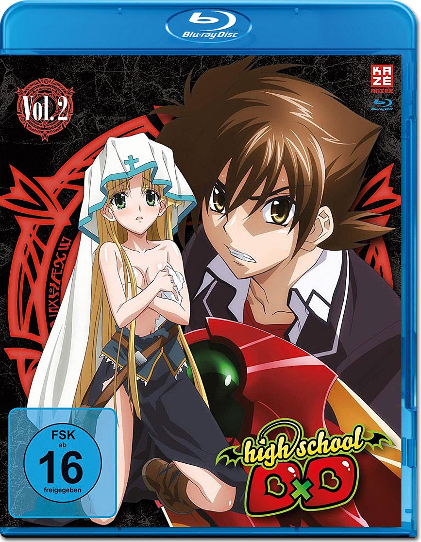 HighSchool DxD Vol. 2 Blu-ray [Anime Blu-ray] • World of Games