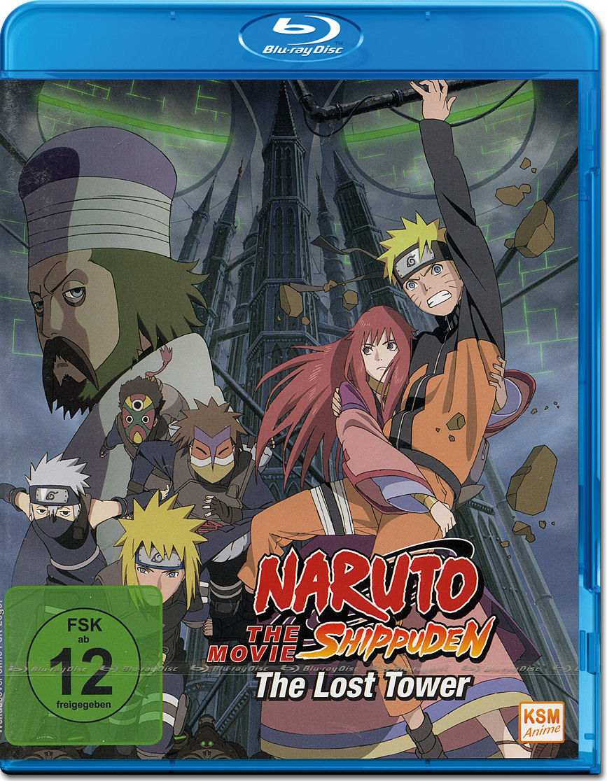 Naruto Shippuden The Movie 4: The Lost Tower Blu-ray ...