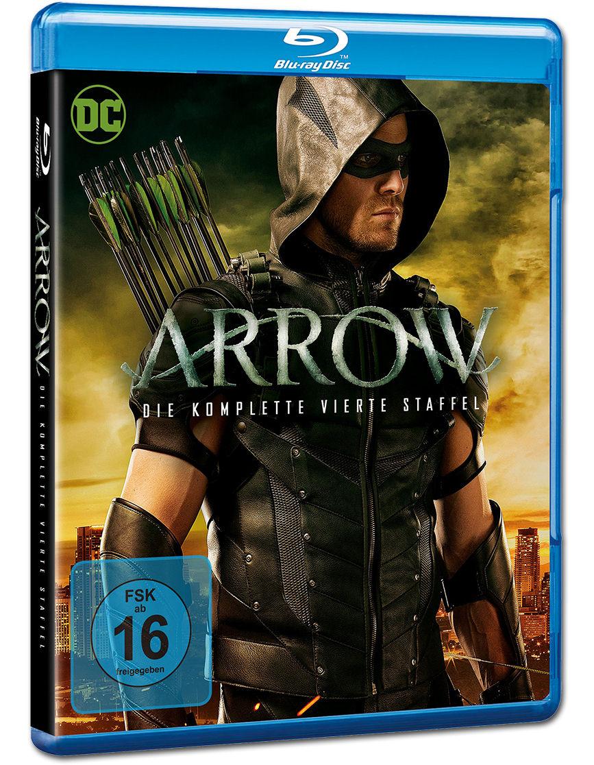 Arrow Staffel 4 Blu Ray