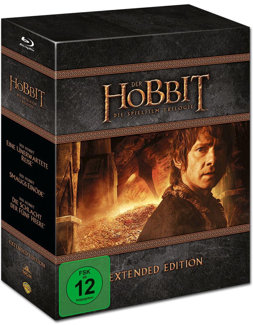 Der Hobbit Trilogie Blu Ray