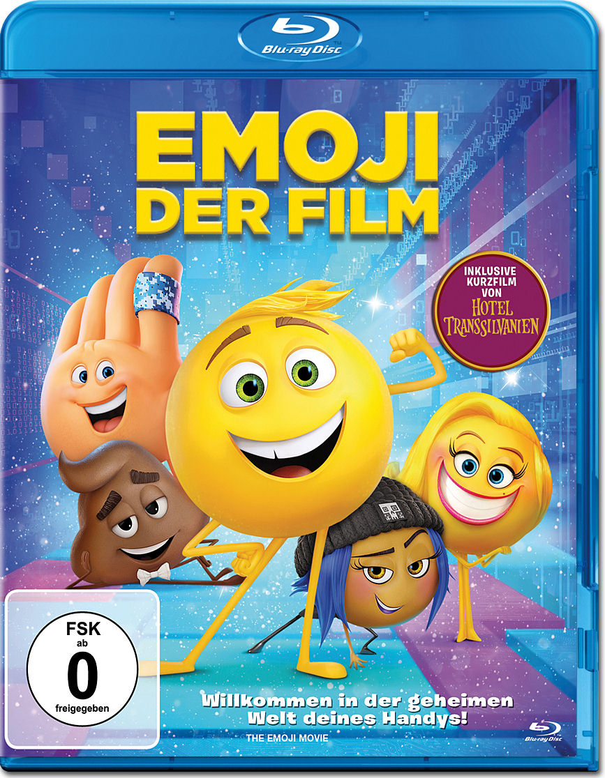 Emoji Der Film Blu Ray Blu Ray Filme World Of Games