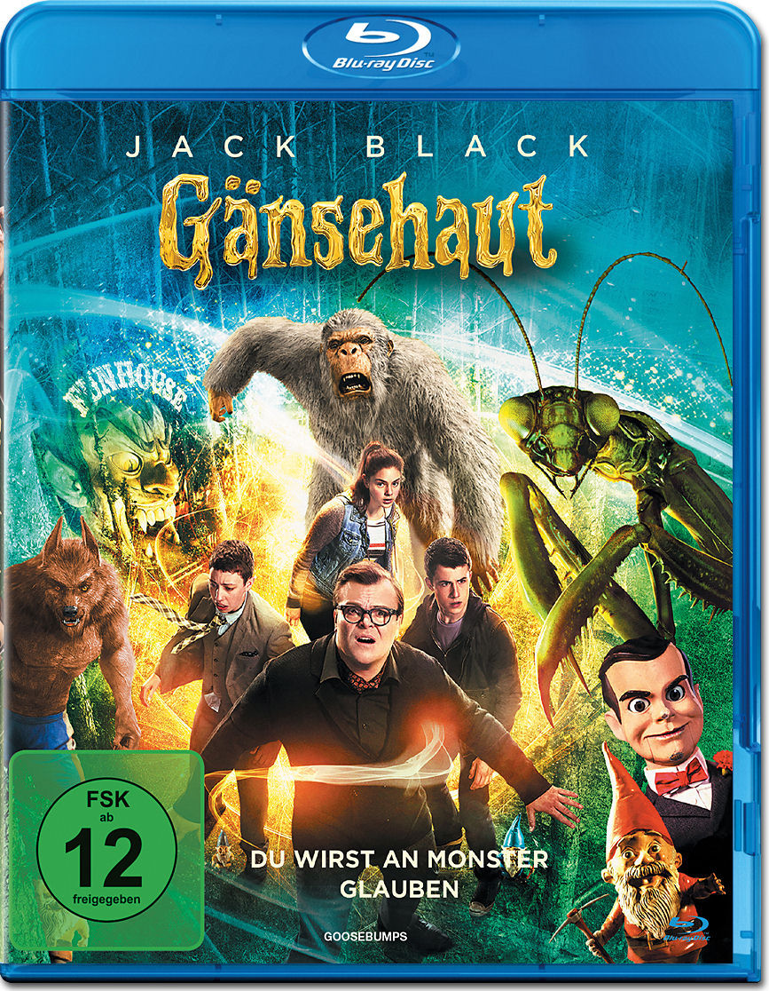 Gänsehaut Blu-ray [Blu-ray Filme] • World of Games